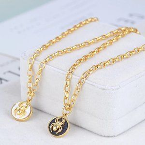 Tory Burch Short Spider Chain